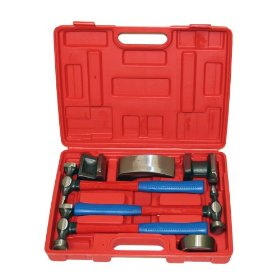 Show details of Grip-On-Tools, 7 pc Autobody Repair Tool Kit, 21220.