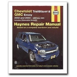 Show details of Haynes Chevrolet Trail Blazer, GMC Envoy (2002 - 2003) Repair Manual.
