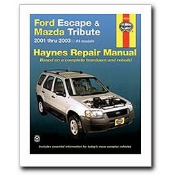 Show details of Haynes Ford Escape and Mazda Tribute (2001 - 2003) Repair Manual.