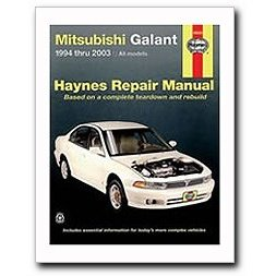 Show details of Haynes Automotive Repair Manual Mitsu. Galant 1994-2002.