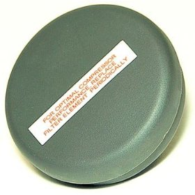 "Show details of VIAIR 92630 Metal Housing Direct Inlet Air Filter - 1/4"" NPT."