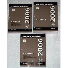 Show details of 2006 Cadillac SRX OEM Service Manuals.