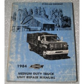 Show details of 1984 Chevrolet Medium Duty Truck Unit Repair Manual.