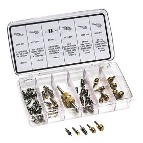 Show details of Mastercool 91337 R-12/R-134a Valve Core Repair Kit.