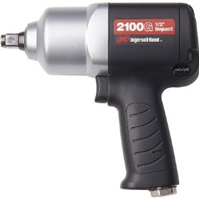 Show details of Ingersoll Rand Composite Air Impact Wrench - 1/2in. Drive, Model# 2100G.