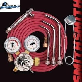 Show details of Smith Acetylene Air Heating Outfit No Turbotorch Ne835A.