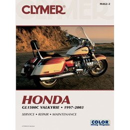Show details of CLYMER MANUAL CLY HON VALKYRIE M4622.