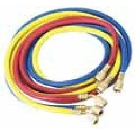 "Show details of Robinair 30072 72"" A/C Charging Hoses with 1/4"" Standard Fittings - Set of 3."