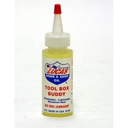 Show details of TOOL BOX BUDDY -- AIR TOOL LUBE -- 2 OZ..