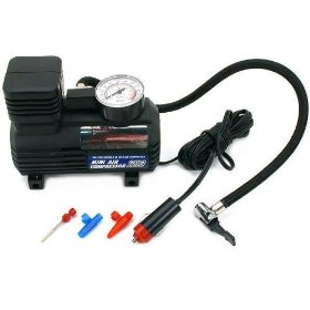 Show details of 250psi Portable Air Compressor Automotive 12V Tools.