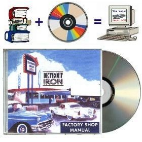 Show details of 1957 Mercury Factory Shop Manual on CD-rom.