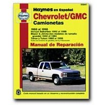Show details of Haynes Chevrolet/GMC Camionetas (88 - 98) Spanish Repair Manual.