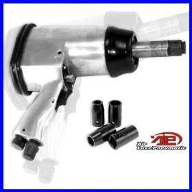 "Show details of 1/2"" Air Impact Wrench Tool Kit, Long Shank Pneumatic."