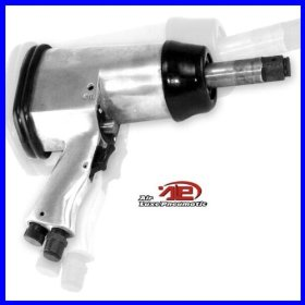 """Show details of 3/4"""" Air Impact Wrench, Long Shank."""