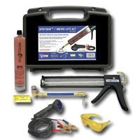 Show details of UVIEW UVU471500K Spotgun A/C Leak Detection Kit.