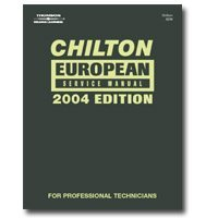 Show details of Chiltons Book Company (CHN24234) European Service 2000-2004 Manual.