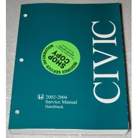 Show details of 2002-2004 Honda Civic Hatchback Service Manual.