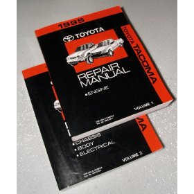 Show details of 1995 Toyota Tacoma Repair Manuals.