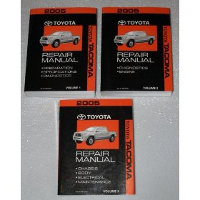 Show details of 2005 Toyota Tacoma Repair Manuals.