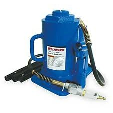 Show details of Bottle Jack,Air/Manual,30 Tons Westward 1AVR5.