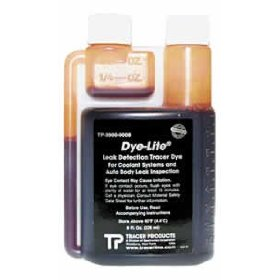 Show details of Tracerline (TP TP3900-0008) Dye-Lite� Engine Coolant UV Dye - 8 oz. Bottle.