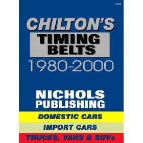Show details of Chilton's (CHI9305) Quick Reference -Timing Belts; 1980 thru 2000.