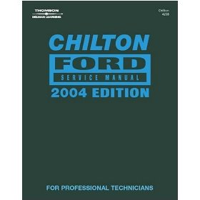 Show details of Chilton's (CHI4238) Ford Vehicle Service Manual - 2004 Edition.