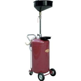 Show details of Northern Industrial Air-Operated Oil Drainer - 24-Gallon Capacity.