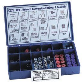 Show details of CPS Products RFK Deluxe Retrofit Fitting Kit.