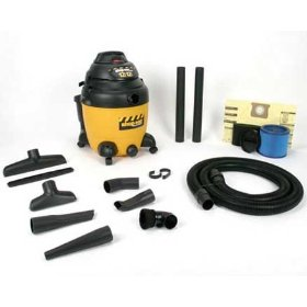 Show details of Shop-Vac 9541210 12 Amp Switch Reluctance Wet & Dry Vacuum Cleaner.