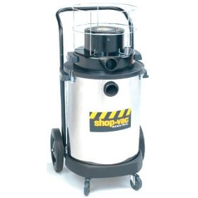 Show details of Shop Vac Two-Stage 4.0 HP Peak; 15 gallon stainless steel tank.