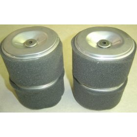 Show details of Honda Engine Parts<br>(4) Paper Air Filters and foam precleaner, for GX140, GX160, & GX200 OHV engines, 100-784.