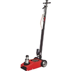 Show details of Torin Big Red Air/Hydraulic Jack - 20/40-Ton, Model# TRA1200-1.