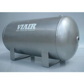 Show details of VIAIR 91050 5 Gallon Air Tank w/ Four 1/4 in NPT Ports.