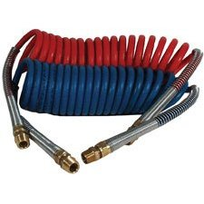 """Show details of Imperial 90752 Nylon Coiled Air Brake Tubing Assemblies 15'x1/2""""."""