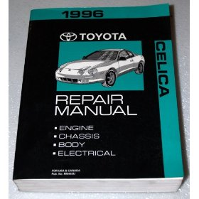 Show details of 1996 Toyota Celica Repair Manual.