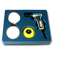 "Show details of Astro Pneumatic 3031 Mini Air Belt Sander - 3/4"" x 20-1/2""."