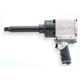 "Show details of Chicago Pneumatic 3/4"" Heavy Duty Air Impact Wrench with 6"" Ext. Anvil."
