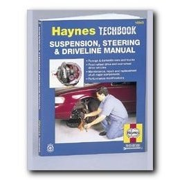 Show details of Haynes Suspension Steering and Driveline Manual.