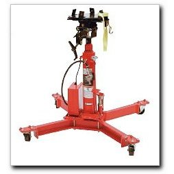 Show details of Air/Hydraulic Transmission Jack, 1000 lb. Capacity.