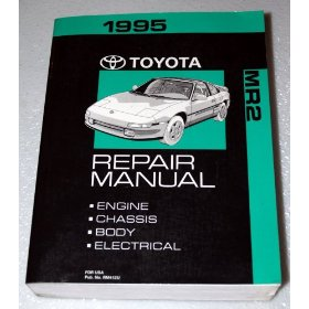 Show details of 1995 Toyota MR2 Spyder Repair Manual.