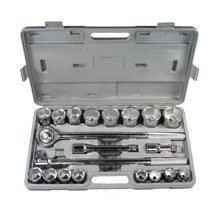 "Show details of 21 PC X 3/4"" SOCKET SET - BLOW MOLD CASE."