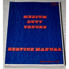 Show details of 1984 Chevrolet Medium Duty Truck Service Manual.