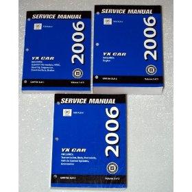 Show details of 2006 Cadillac XLR / XLR-V OEM Service Manuals.