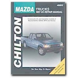 Show details of Chilton Mazda Trucks (87 - 93) Manual.