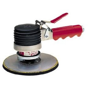 "Show details of National Detroit DA6 Model-DA Dual Action Air Sander with 6"" Pad."