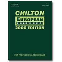 Show details of Chilton 2006 European Diagnostic Manual.