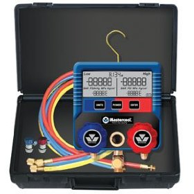 Show details of Digital Automotive Manifold Gauge Set.