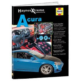 Show details of HAYNES REPAIR MANUAL for EXTREME ACURA NUMBER 11213.