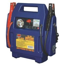 Show details of 12-Volt, 18-Amp/Hour Jump Start with Air Compressor.